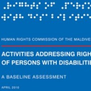 HRCM Releases the Baseline Assessment on Activities Addressing Rights of Persons with Disabilities