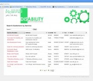 Disability Services Directory launched