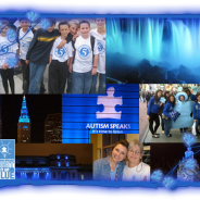 Yafaau's website and blog will Light up Blue for Autism this month